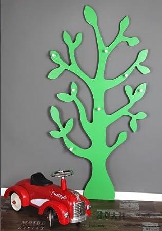 Wandgarderobe »Baum« Garderobe, Wanddeko, (grün, 150cm): Amazon.de ...