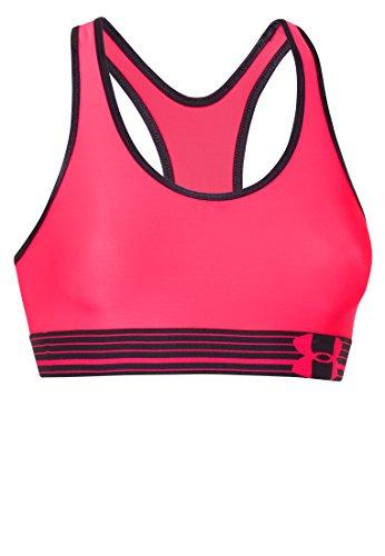 685 Mp3 - Under Armour Women's UA HeatGear Armour Sports Bra X-Large PINK SHOCK