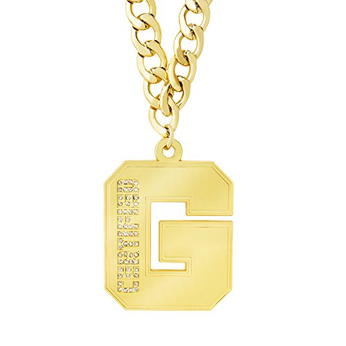 Enzo Cass Certified G Pendant Necklace WWE Authentic by WWE Authentic