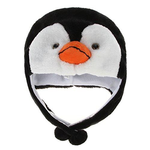 0b749b8acc391 GEMVIE Sombrero Gorro Disfraz Cosplay De Animal Adulto Niños Felpa De Oreja  (Pingüino)  Amazon.es  Juguetes y juegos