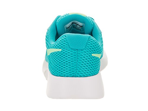 NIKE Kids Tanjun BR (GS) ChlorineBlue/FreshMint/White Running Shoe 4.5 Kids US by NIKE (Image #3)