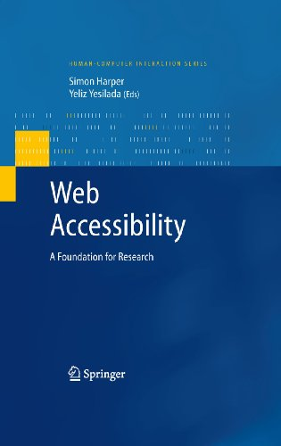 Download Web Accessibility: A Foundation for Research (Human-Computer Interaction Series) Pdf