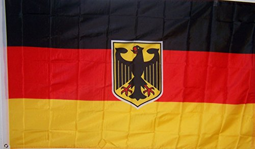 Used, 2 X 3Ft Germany German W/ Eagle Banner Flag for sale  Delivered anywhere in Canada