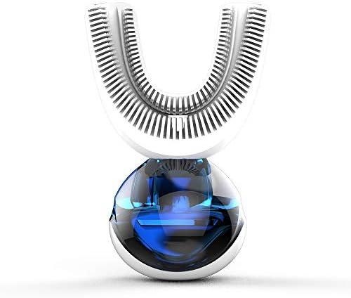 CSFM-Face Elektrische Schallzahnbürste, Automatische weiche Zahnbürste 15s omnidirektionales Bürsten Kabelloses Laden Erwachsene Heimgebrauch