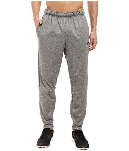 New Nike Men's Therma Training Pants Carbon Heather/Black Large
