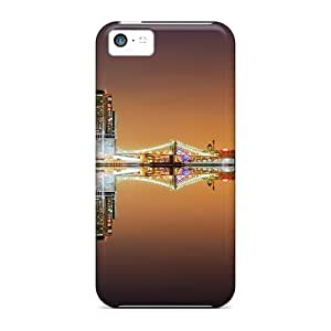 For Iphone 6 (4.5) Reflected Skyscrapers PC iphone Iphone Hard Cases With Fashion Design case Runing's case
