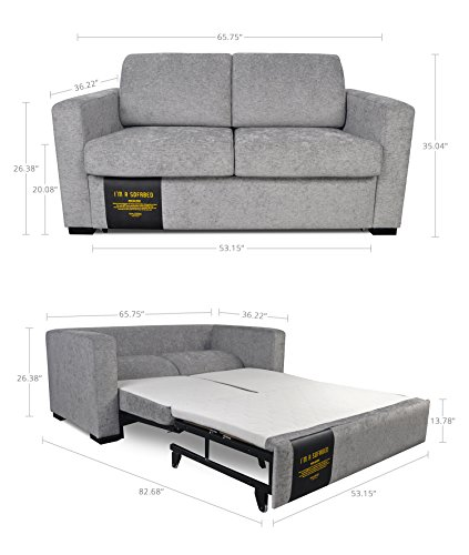 Modern functional lift and pull out loveseat couch sofa for Easy pull out sofa bed