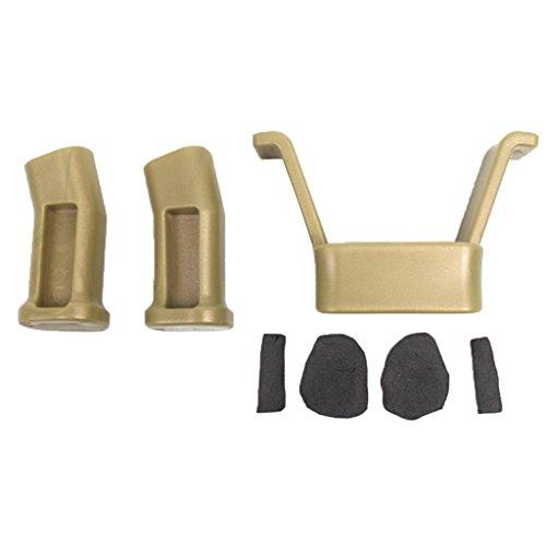 (MonkeyJack For DJI Mavic Pro Landing Gear Guards Protector Cover Bumpers Leg Height Extender Kit Riser Set Stabilizers Gold)