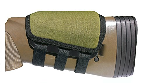 Rifle Cheek Pad / Cheek Riser / CheekRest by ITC Marksmanship / Olive Wet - To How Recognize Shape Face
