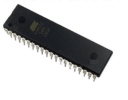 Amazon com: Exiron 5PCS AT89S52-24PU AT89S52 DIP-40 Microcontroller