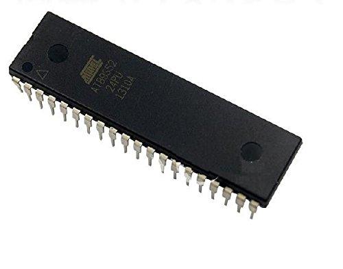 Exiron 2PCS AT89S52-24PU AT89S52 DIP-40 Microcontroller CHIP IC new