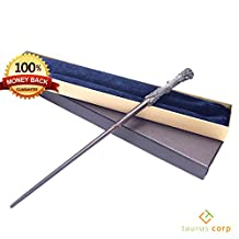 Harry Potter Wand: Ultimate Genuine Recreation of Universal Potter Wizard Wand in Ollivander's Collector Box. 1:1 Ratio Size Wand Replica for Teens & Adults, Cosplay, Halloween, Christmas