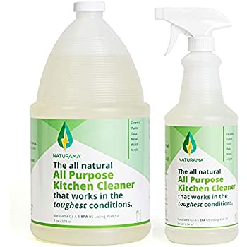 Naturama, All Natural All Purpose Kitchen Cleaner, Eco-Friendly EPA Registered. Made in the U.S. (refill pack)