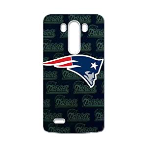 Handsome Fashion Design New England Patriots LG G3 Case Shell Cover (Laser Technology)