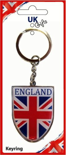 【保障できる】 England Shield Union England Jack Shield Union Keyring B00831V2SC, お好み焼き こころ:84dee060 --- yelica.com