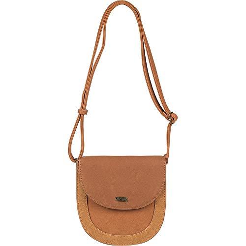 (Roxy Winter And Coconut Messenger Bag, 20 cm, Multicolour (Camel))