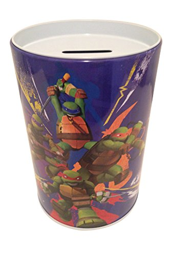 The tin box company in Action - Teenage Mutant Ninja Turtle - Saving (Coin or Money) Bank for Kids ()