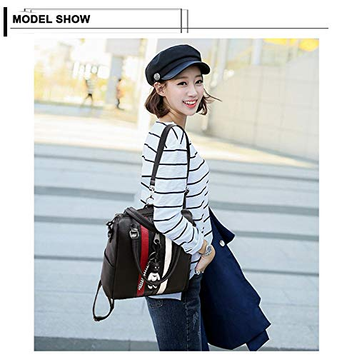 White Daypack Stylish Women School Shoulder Leather JUMENG Mini for for PU Bag Backpack 7qp6BA