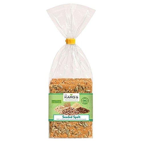 Dr Karg Semilla orgánicos espelta Crispbread – 200 g: Amazon ...