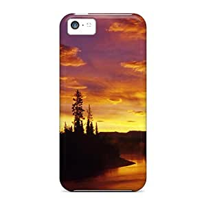 Awesome JQe13830xiSP CaroleSignorile Defender Hard Cases Covers For Iphone 5c- Sky River