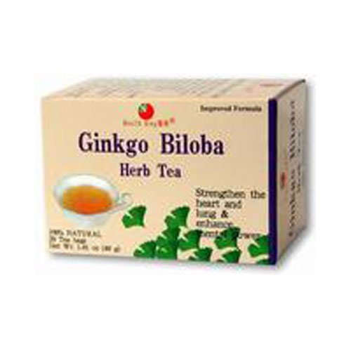 Health King Medicinal Teas Tea Ginkgo Biloba 20 Bag - Ginkgo 20 Bags