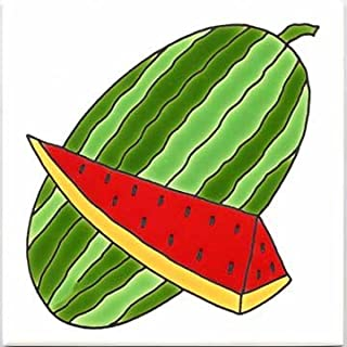 product image for FRUITS-VEGETBLES-TRIVETS-WALL PLAQUES-WATERMELON TILE