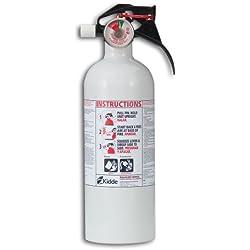 Kidde Mariner5 Fire Extinguisher with Pressure Gauge