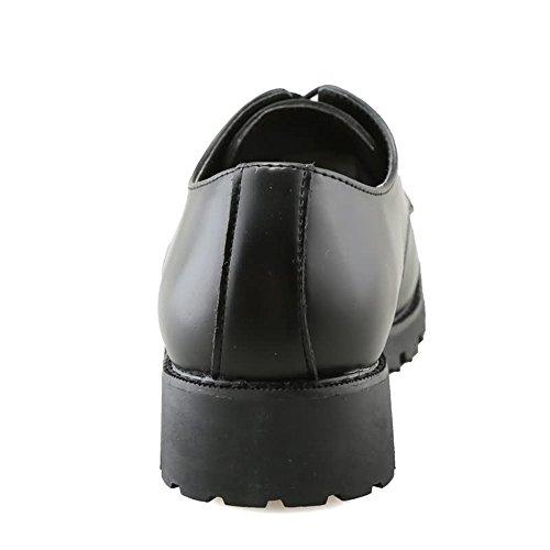 shoes sul dimensione con chiusura lavoro 42EU Nero Scarpe tinta Colore basse in casual stringate Xujw Rosso da sicurezza tonda uomo 2018 Scarpe unita dxqRvpwa