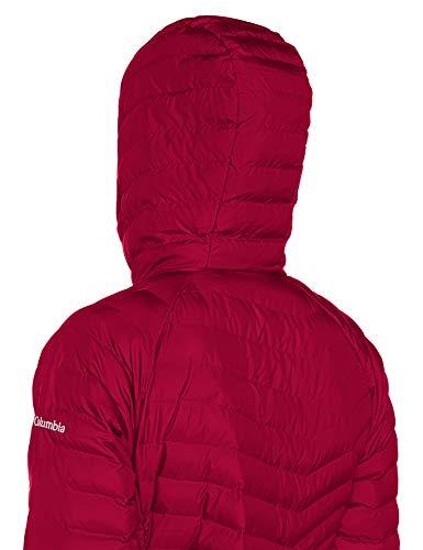 Jacket Medio Mid Chaqueta Rojo Mujer Largo Para pomegranate Lite Impermeable Powder Columbia pXwqZznn