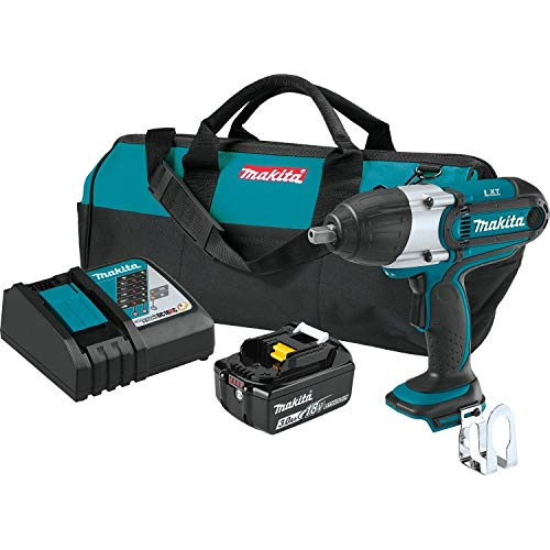 Makita XWT041X 3.0Ah 18V LXT Lithium-Ion Cordless 1 2 Square Drive Impact Wrench Kit