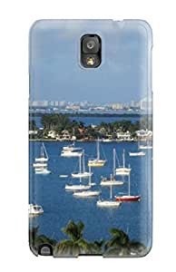 Tpu Shockproof/dirt-proof Miami City Cover Case For Galaxy(note 3)