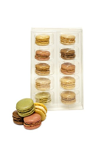 French Imported Macarons 10pc by The Tea Room