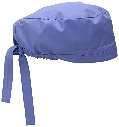 (WonderWink Men's Wonderwork Unisex Scrub Cap, Ceil Blue, One)