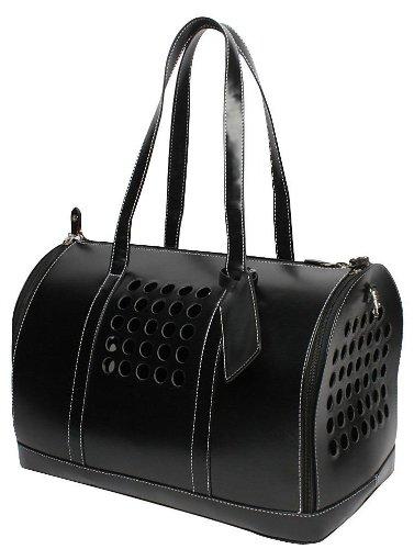 Bark-n-Bag Carrier One Collection Pet Carrier, Black