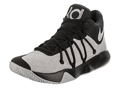 Nike Men KD Trey 5 V Over-The-Ankle Black/Wolf Grey 10 M US Basketball Shoes