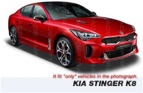 Front Hood Radiator Grill GT Point Emblem Logo Badge for KIA 2017-2018 Stinger