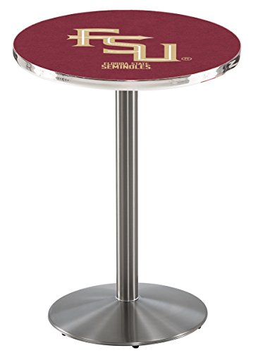 Holland Bar Stool L214S Florida State Script Officially Licensed Pub Table, 28