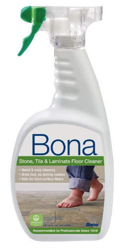 Bona Stone, Tile & Laminate Floor Cleaner Spray, 32 oz. - Bona Kemi Hardwood Floor Mop