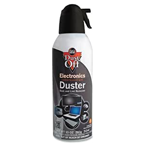 dust off dpsxl6 xl compressed gas duster compressed air dusters office products. Black Bedroom Furniture Sets. Home Design Ideas