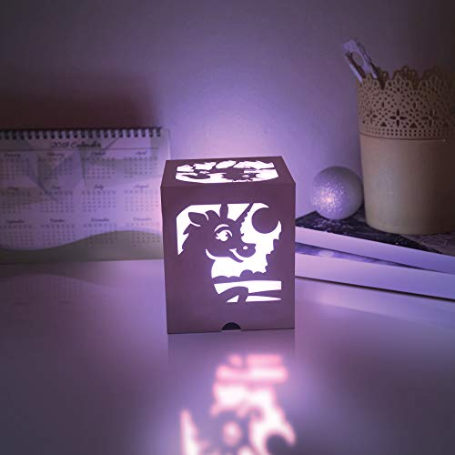 Gear Gurus Unicorn Light 13 Changeable Colors Night Light with Remote Control Decorative LED Bedside Table Lamp Birthday Party Gift Ideas for Girls Boys Baby Bedroom Living Room Home Decoration