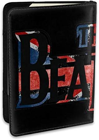 The Beatles ビートルズ パスポートケース メンズ 男女兼用 パスポートカバー パスポート用カバー パスポートバッグ ポーチ 6.5インチ高級PUレザー 三つのカードケース 家族 国内海外旅行用品 多機能