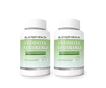 Amazon.com: # 1 probiótico ventaja * 2 botellas enzimas ...