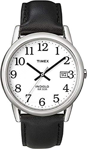 Timex Men's Easy Reader 35 mm Leather Strap Watch