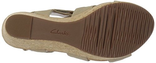 CLARKS Women's Annadel Orchid Wedge Sandal Sand sale low shipping sale low shipping fee 8m6RFsgJC