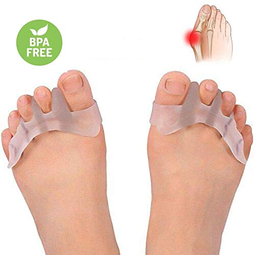 3670b08df6e Gel Toe Separator Toe Spacers Toe Stretchers for Men and Women Easy Wear in  Shoes