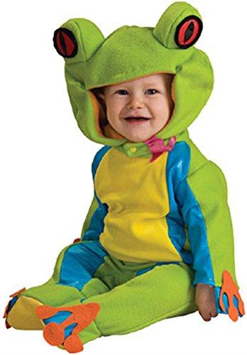 Tree Frog Halloween Costume (New Baby Noahs Ark Frog Halloween Costume 12-18months)
