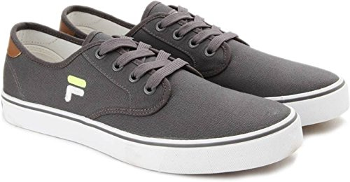 a9af7aab7903 Fila Men s Dk Grey Canvas Nacio Casual Shoe - Uk 6  Buy Online at ...