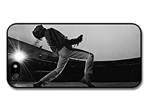 Freddie Mercury Queen Singing Black & White case for iPhone 5 5S A1926