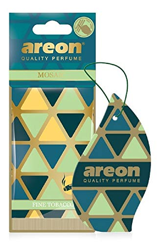 (Areon Mosaic Hanging Car and Home Air Freshener, Fine Tabacco)