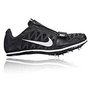Nike Men's Zoom LJ 4 Track and Field Shoes(Black/White, 12 D(M) US)